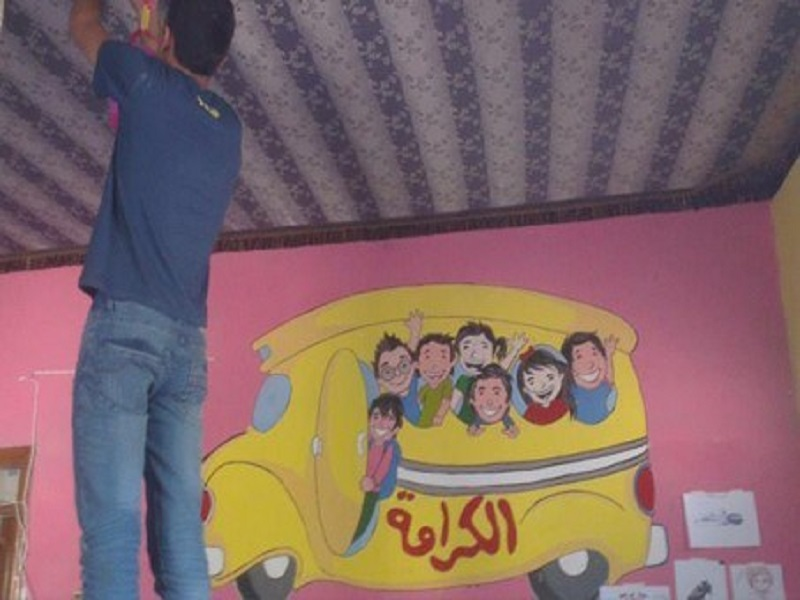 Karama Bus Traveling School for Children